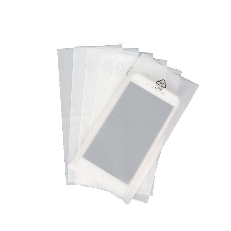 CPE thick translucent frosted bag (1)