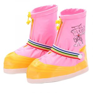 Color Matching Rain Boots (1)