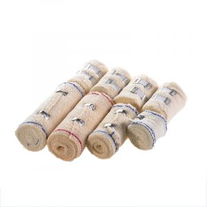 Cotton White Wrinkle Elastic Bandage