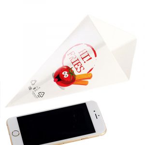 Disposable Conical Fries Packing Box (3)