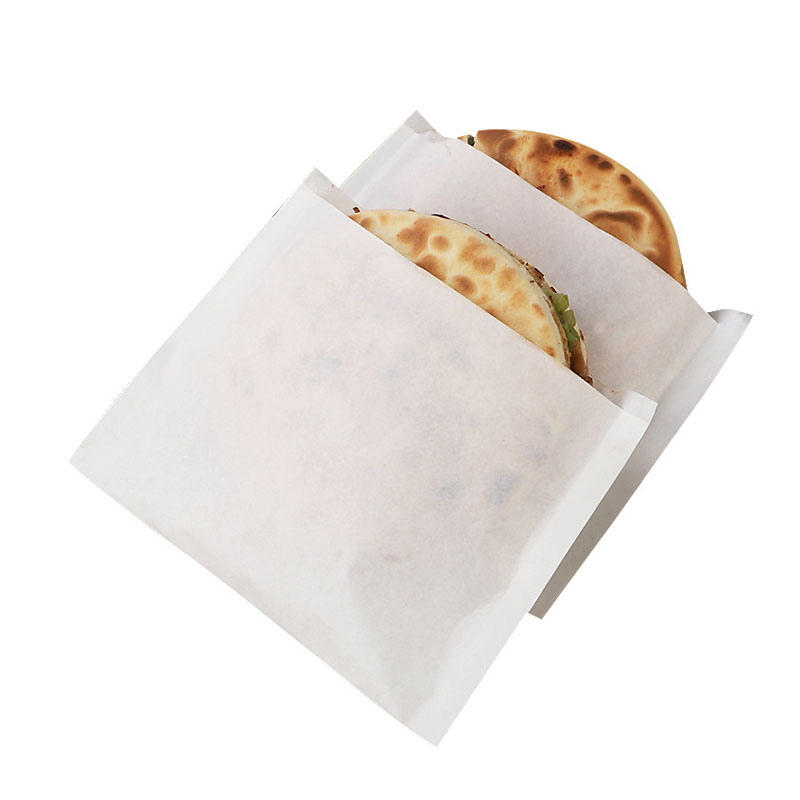 Disposable oil-proof paper bag