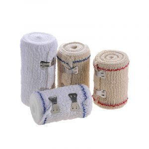 Environmentally Friendly Spandex Wrinkle Medical Elastic Bandage