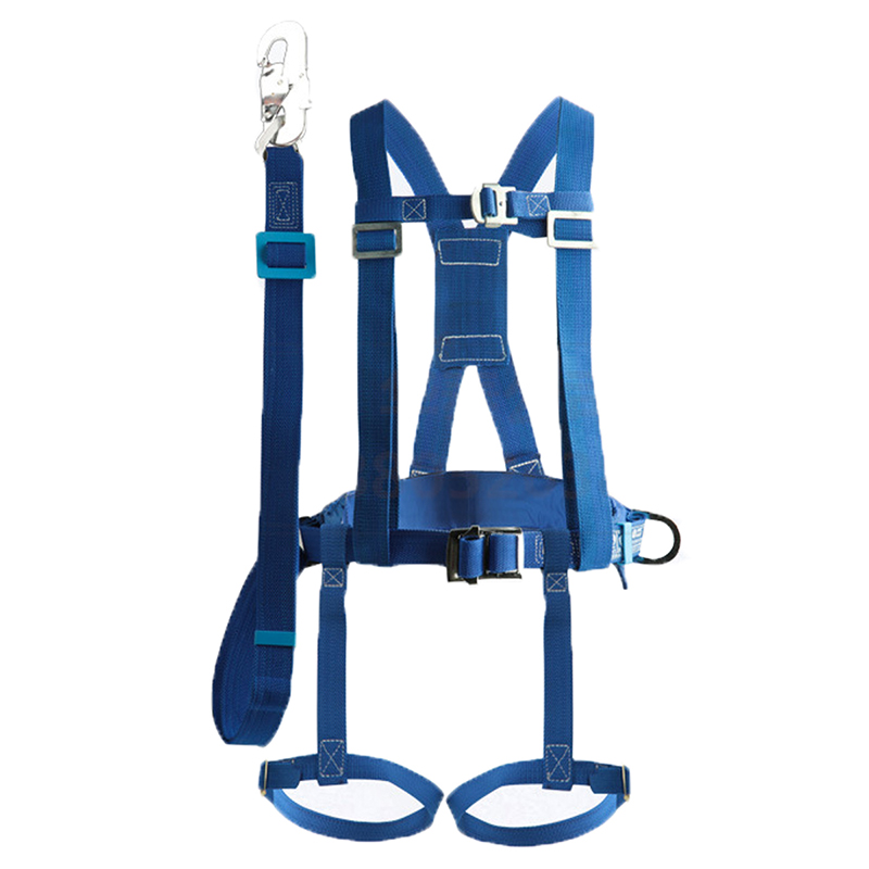 Fall protection hanging seat belt (1)