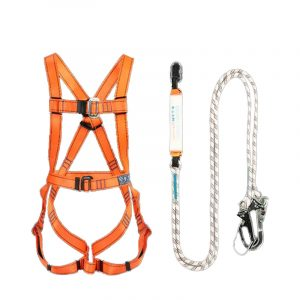 Five-point electrician protective seat belt (1)