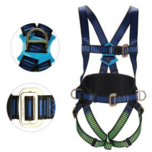 Full body harness with safety harness (1)