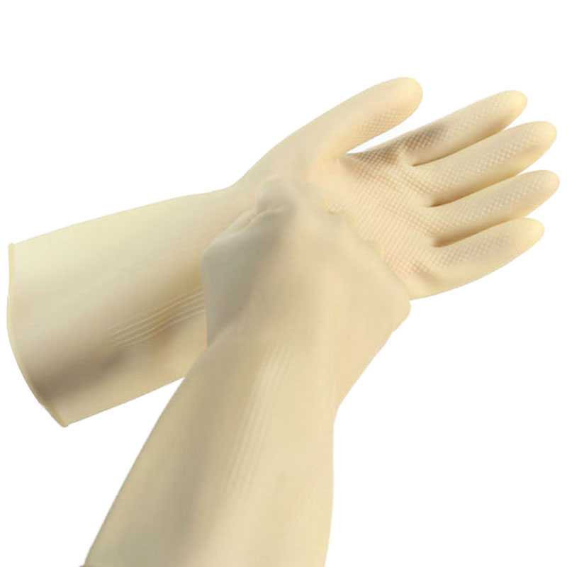 Latex cleaning housework gloves (2)
