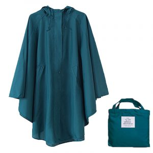 Polyester Dot Outdoor Raincoat (5)