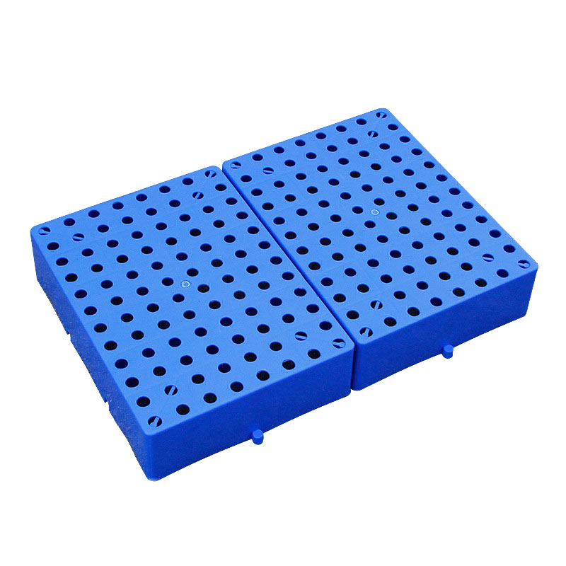 Round Hole Thick Plastic Tray (3)