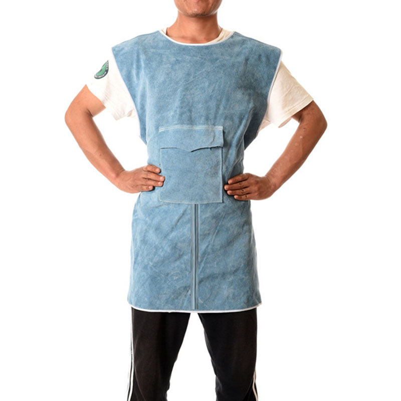 Short Collarless Sleeveless Protective Suit (1)