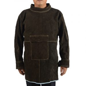 Short High Collar Long Sleeve Protective Suit (1)