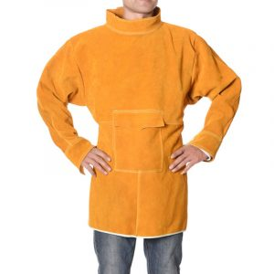 Short High Collar Long Sleeve Protective Suit (2)