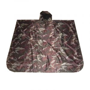 Square Polyester Camouflage Raincoat (7)