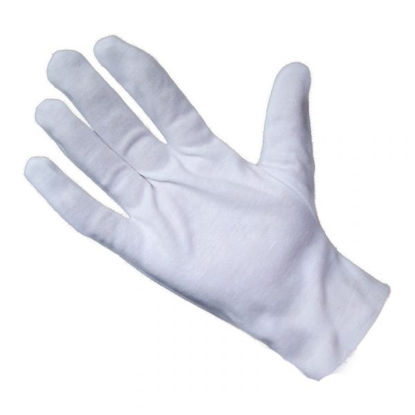 Thick cotton ceremonial gloves (2)