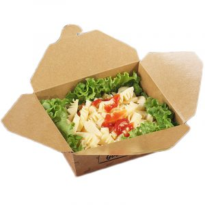Thick kraft paper lunch box6