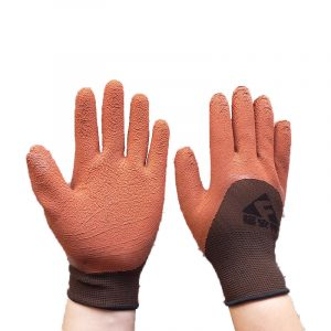 Thirteen needle foam gloves (2)