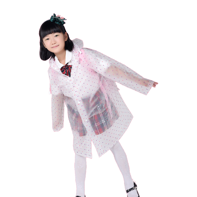 Waterproof Long Poncho With Student Bag (1)