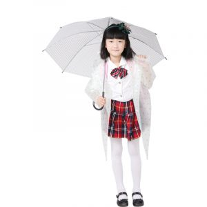 Waterproof Long Poncho With Student Bag (2)