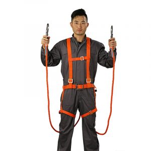 Woven eight-strand rope fall protection belt (2)